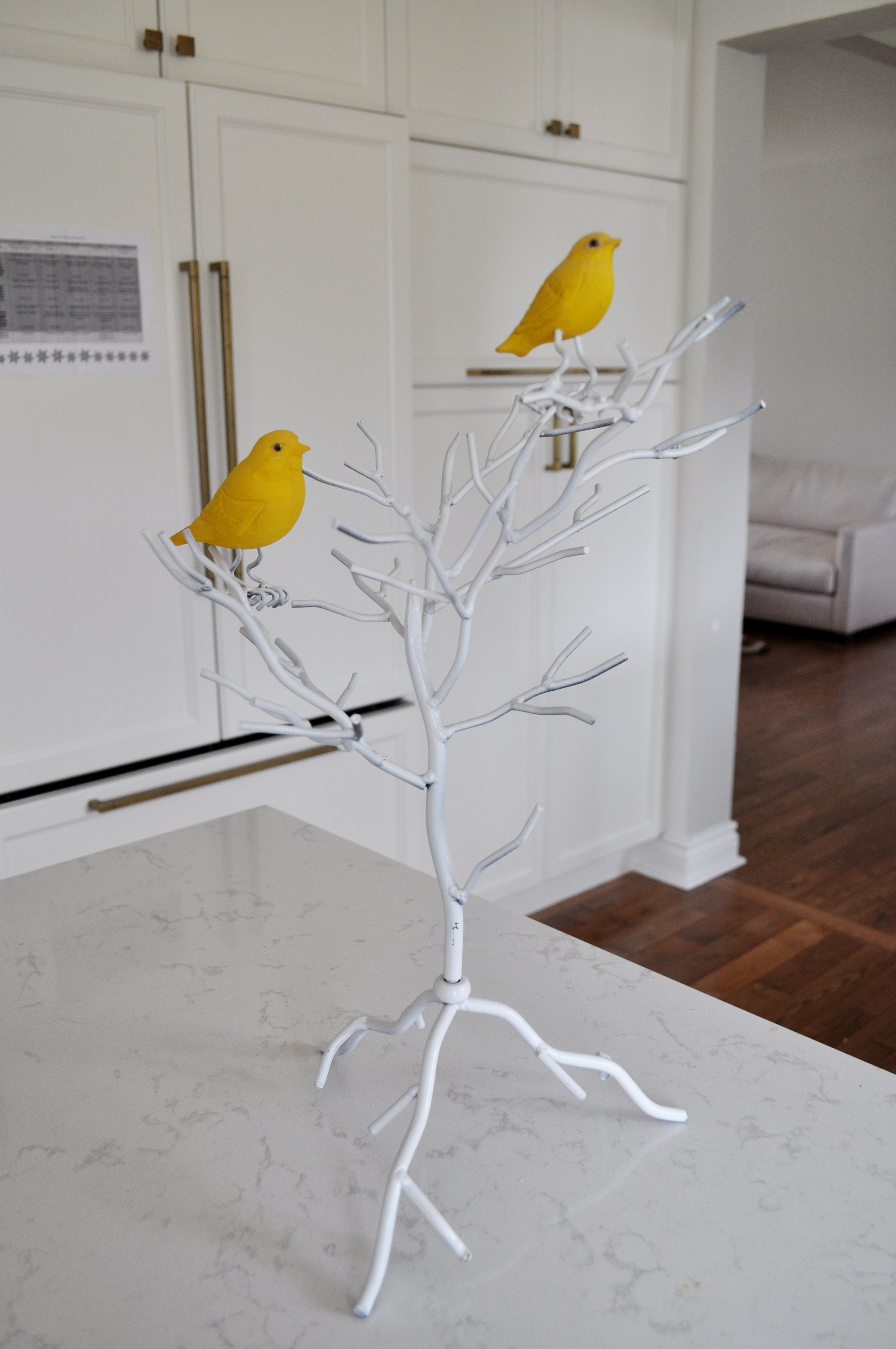 Bird on Wire Before Paint