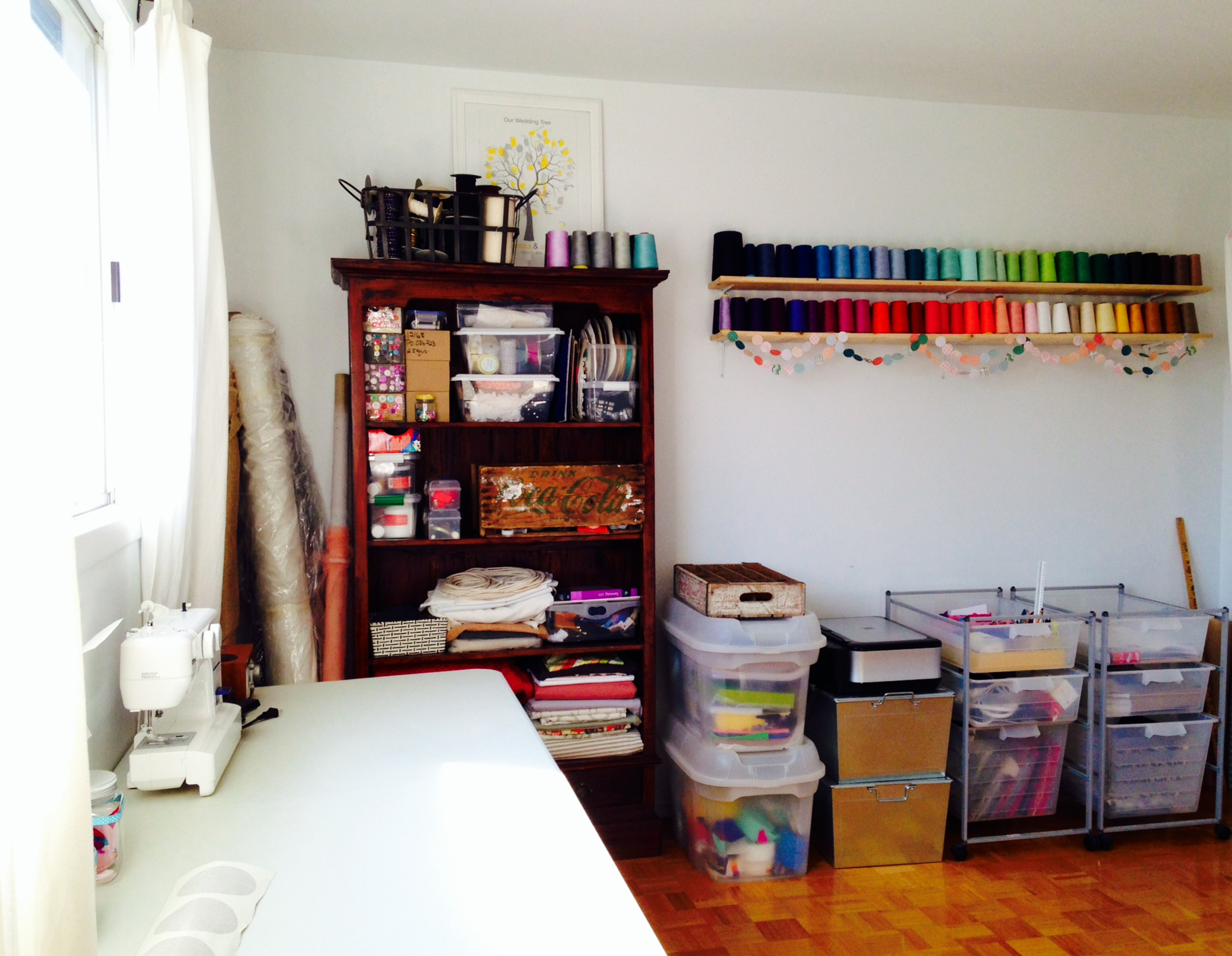 Temp Craft Room, After