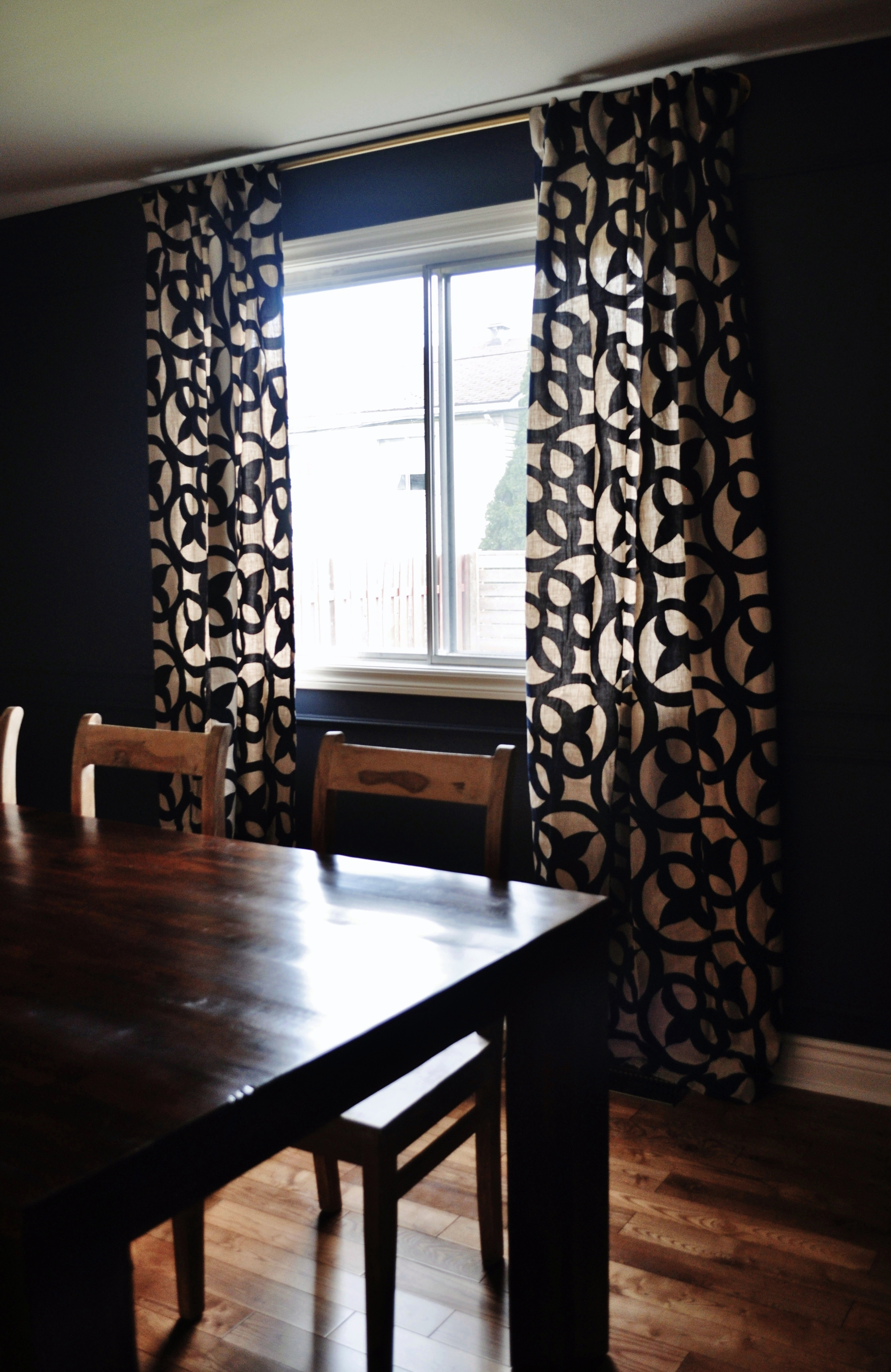 New Dining Room Curtains 2