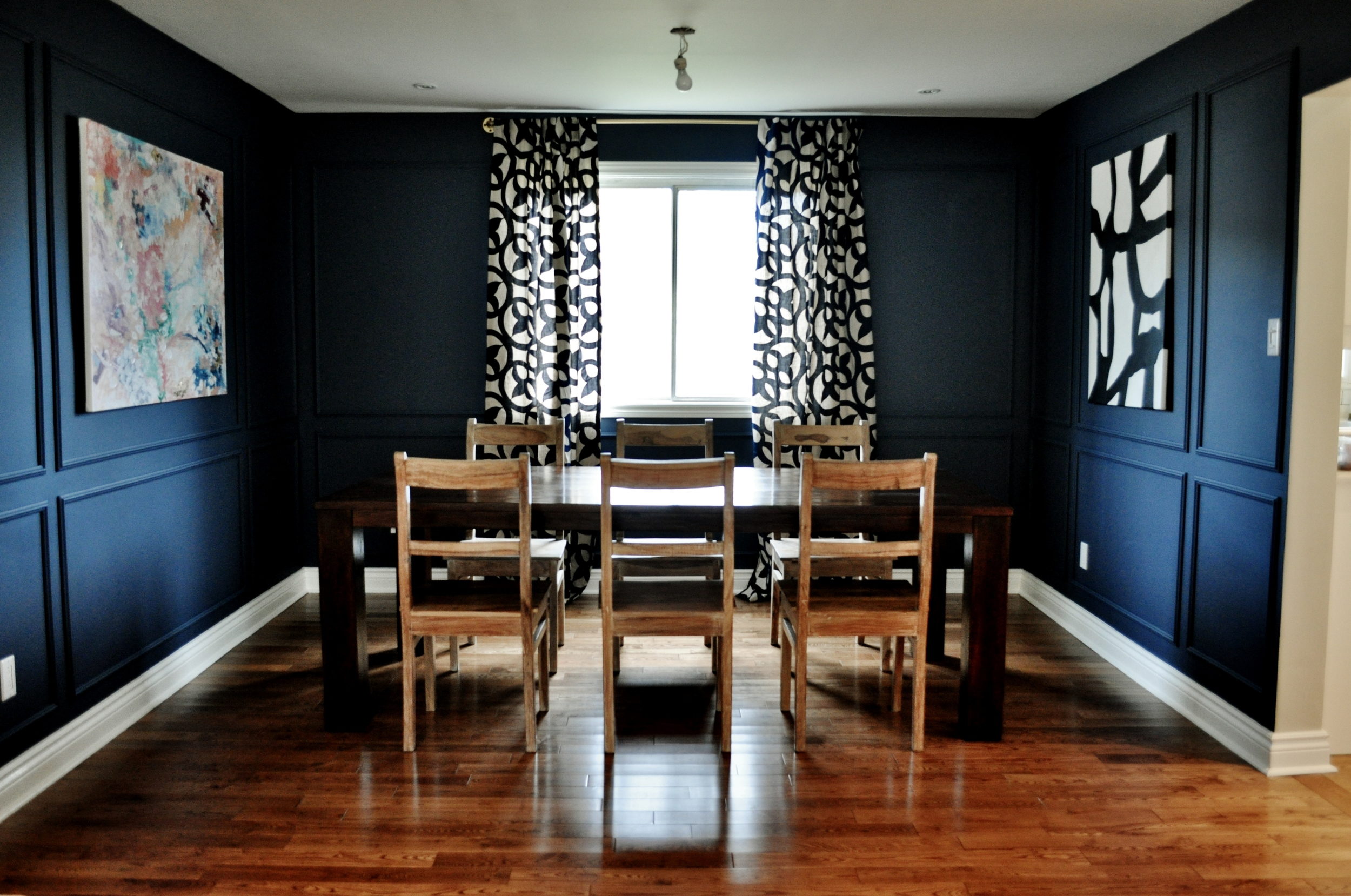 New Dining Room Curtains