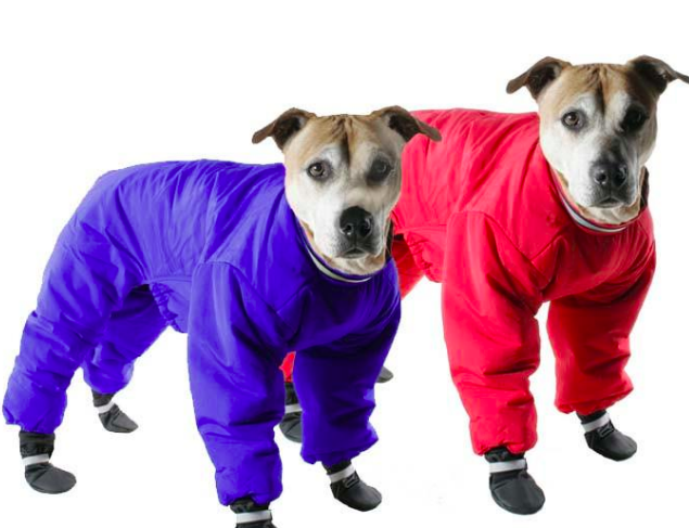 Muttlucks - REVERSIBLE SNOW SUIT