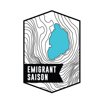 EMIGRANT SAISON5.0% ABV – 35 IBU'STart farmhouse ale brewed with oats and white wheat and German Hallertau Blanc hops. Complex, earthy, acidic, and dry. -