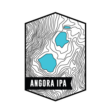 ANGORA IPA6.5% ABV – 60 IBU'sUnfiltered modern IPA brewed with oats and white wheat. Hopped with Mosaic, Centennial and Simcoe throughout. Notes of candied mango, ripe tropical fruits, and damp pine forest. -