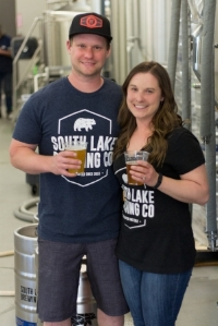 Co-Founders of SLBC, Chris and Nicole Smith