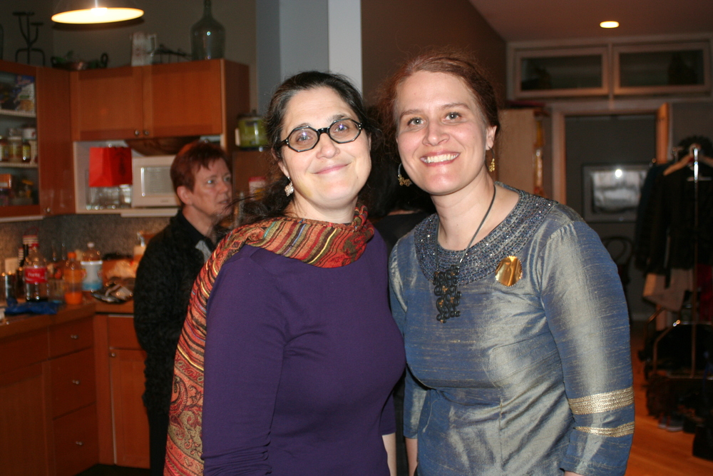 Katherine Paul, the current curator of Asian Art at the Newark Museum with fellow Fulbright to Nepal alumi, Natasha