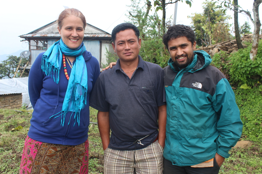 Natasha, Shambhu Gurung of Rainaskot and Bibek