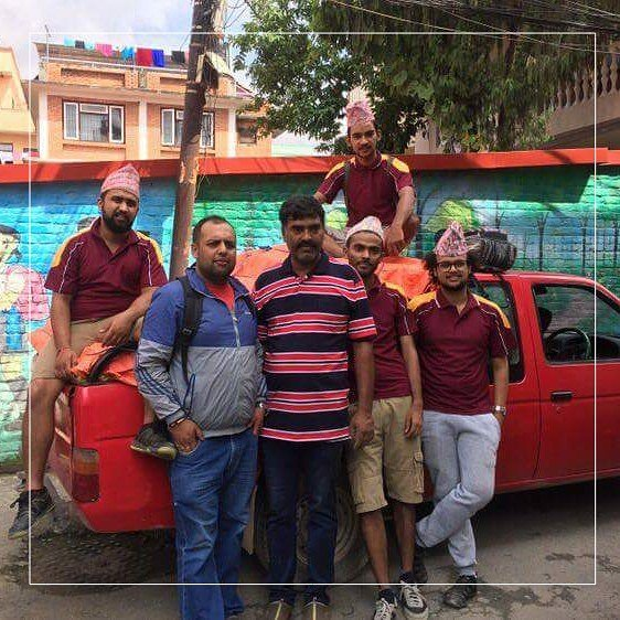Team Sangsangai joined up with Dwoko Nepal volunteers to go to the effected flooded region and bring badly needed food to the displaced victims. They had a long 28 hour journey with no sleep and we salute them for their courage and heart to take on such a difficult job.