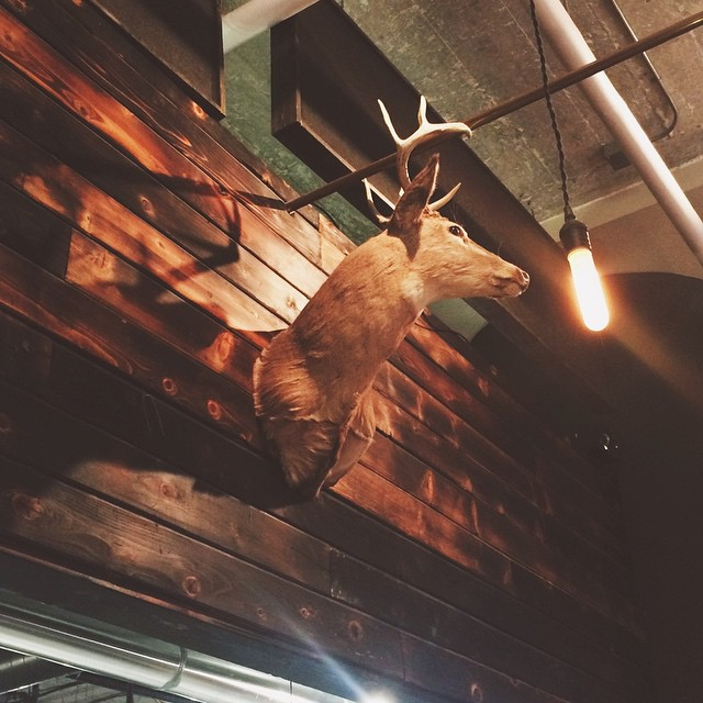 We're tying one off at @eastlakemgm, come join us! #OhDeer! #OhBeer! #GirlCreative