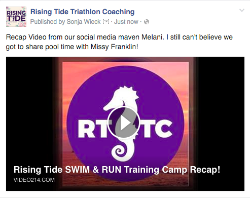 Click on the Image to travel to our RTTC FB page where you can view the video!
