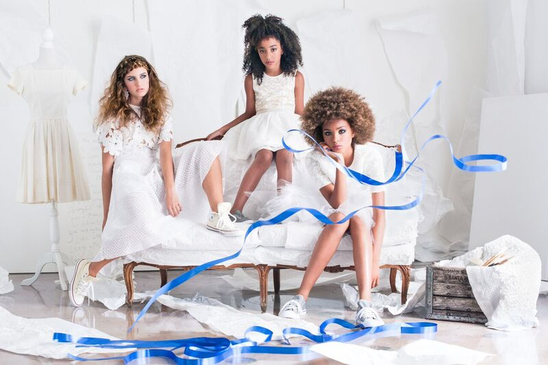 girls in white dresses rebecca buenik prop stylist
