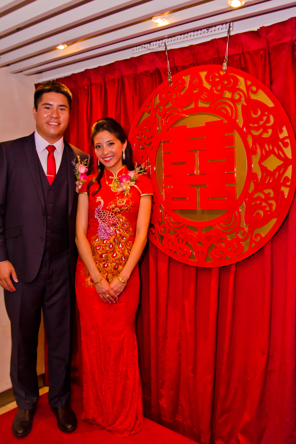 Events by Sonya Taiwanese Wedding Qipao Double Happiness