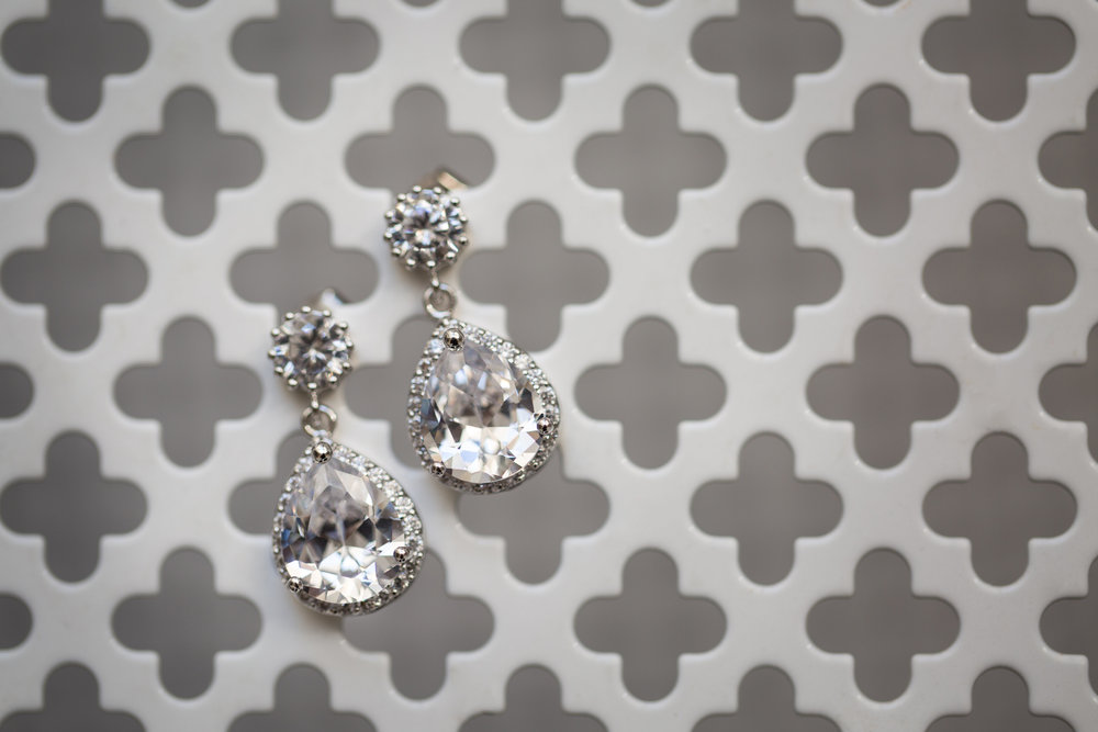 Angie's Wedding Earrings