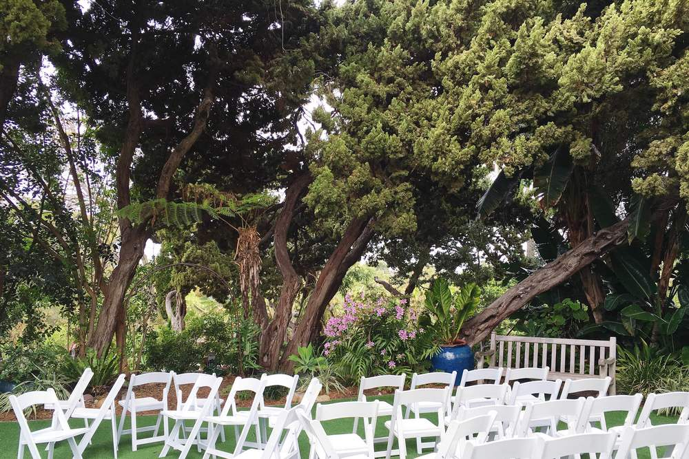 SD Botanic Garden Walled Ceremony