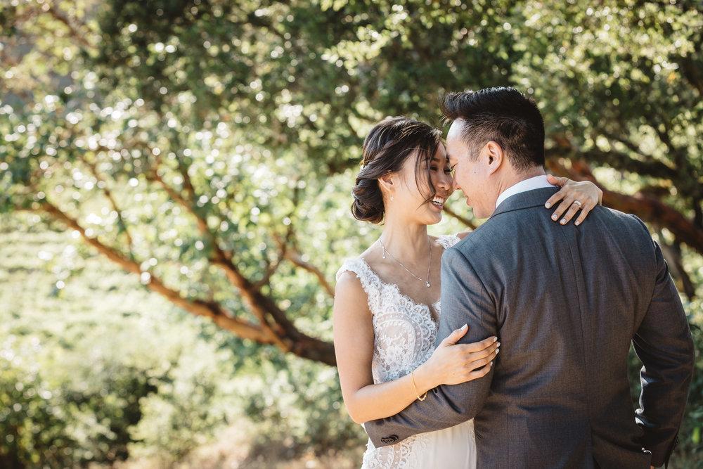 Stephanie & Mike - Thomas Fogarty Winery - San Francisco, CA