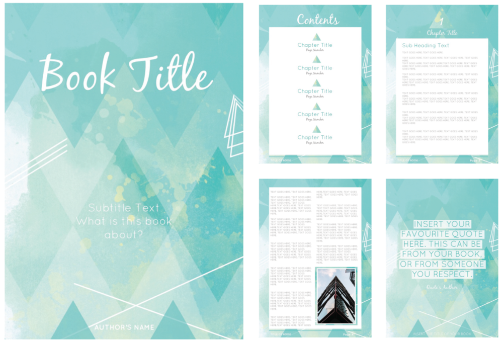 EARTH CHILD EBOOK TEMPLATE GREEN