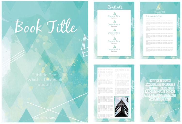 earth child e book template juju creative hub