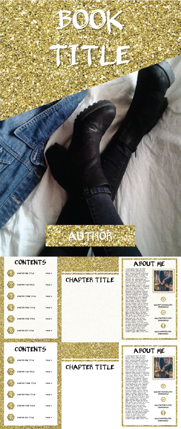 ALL THAT GLITTERS EBOOK TEMPLATE