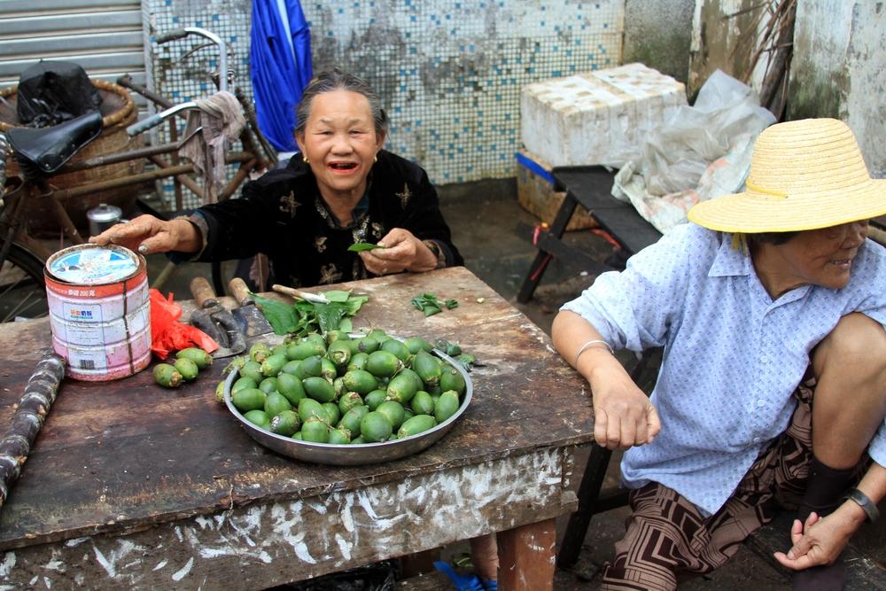 A betel paan vendor in Hainan. Credit: Wikimedia