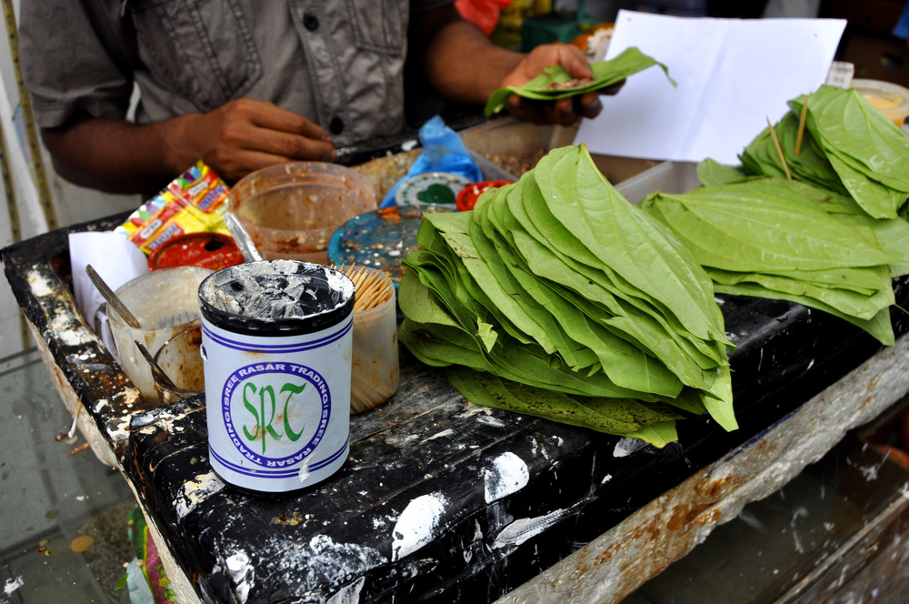 Betel nuts and paan in India. Credit: Travelling Documents Blog | Wordpress.com