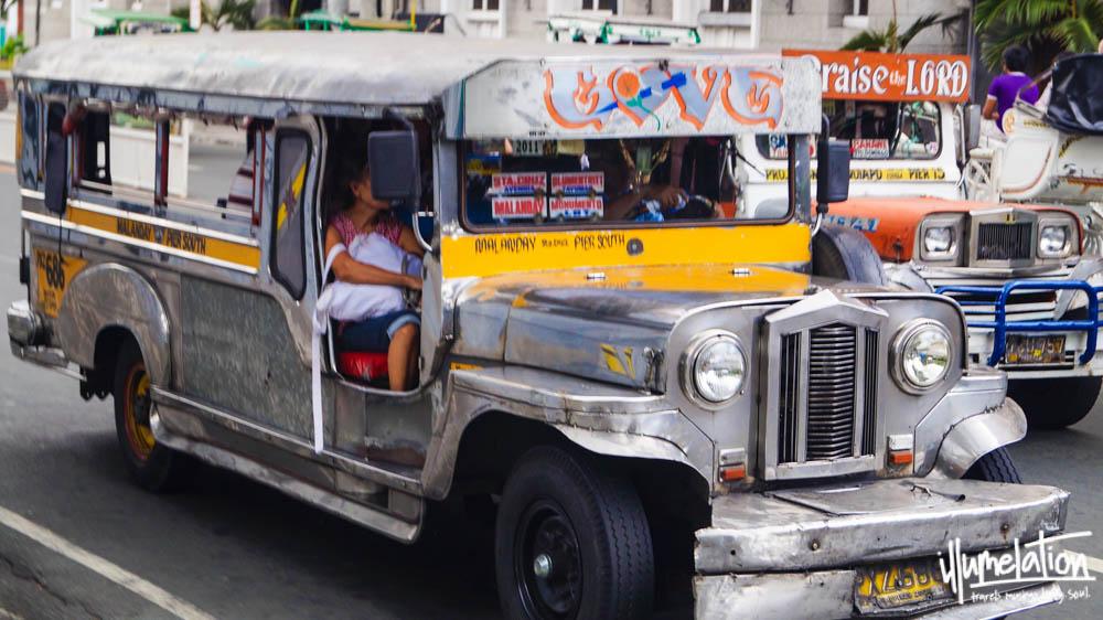 Manila Philippines. Silver jeepneys. 2015.