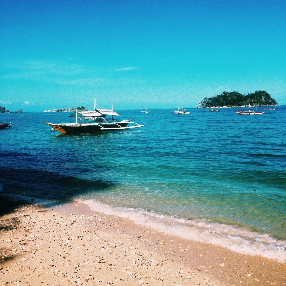 Bangka. Islas de Gigantes. Gigantes Norte. Philippines. Illumelation 2015.