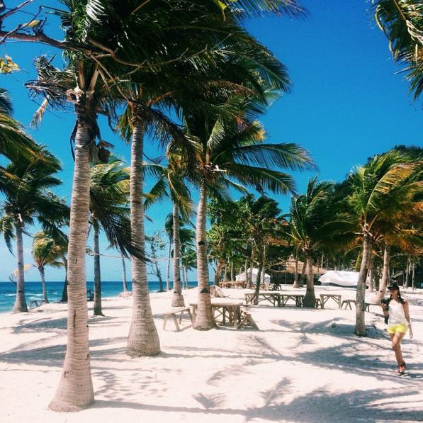 Amongst the Palm Trees. Islas de Gigantes. Illumelation. 2015.