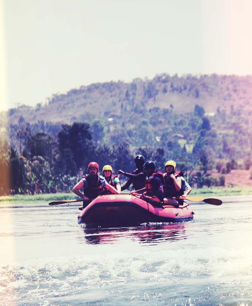 Whitewater Rafting in Uganda Jinja