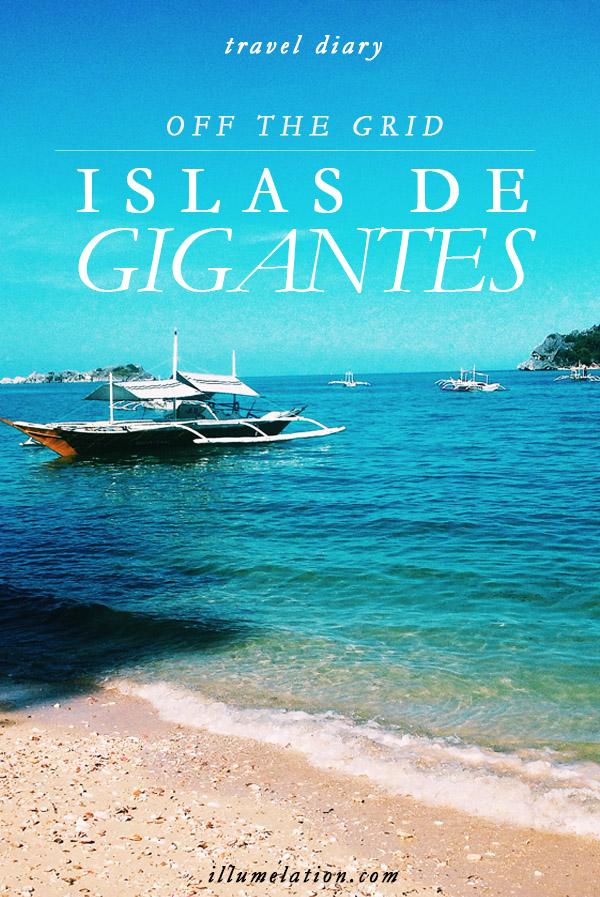 illumelation.com || travel diary || off the grid in islas de gigantes, philippines