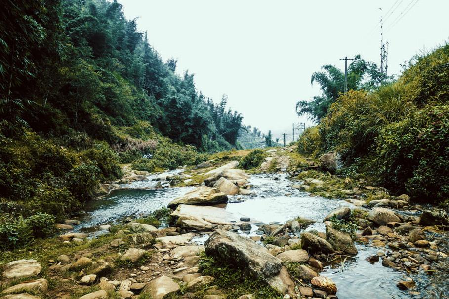 Sapa, Vietnam. Rocky stream. | illumelation.com