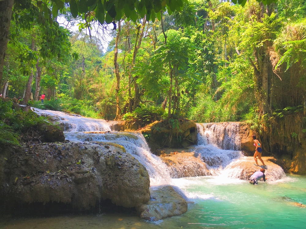 Kuang-Si Waterfalls in Laos, Luang Prabang - illumelation.com
