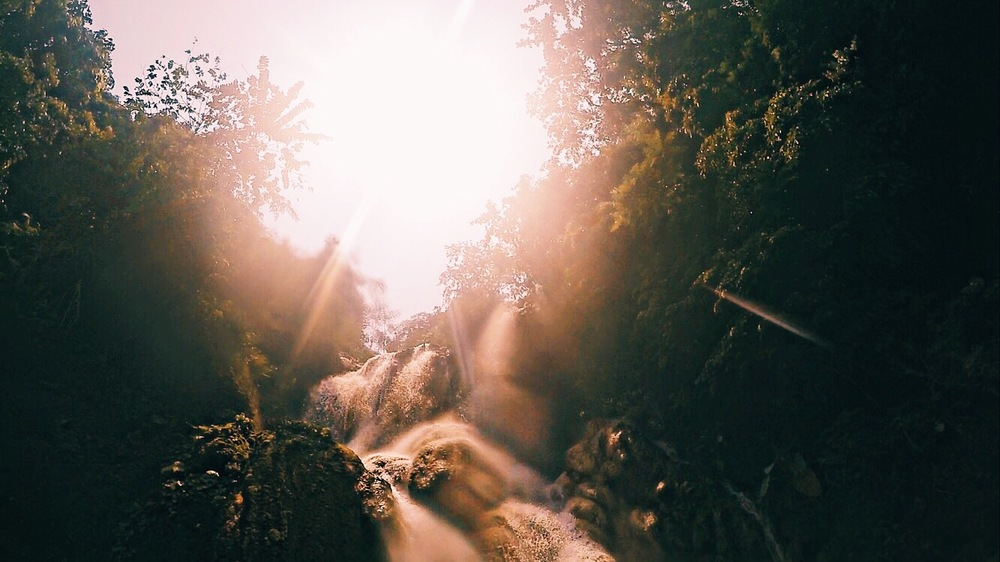 Kuang Si Waterfall in Luang Prabang, Laos. Lens Flare. illumelation.com