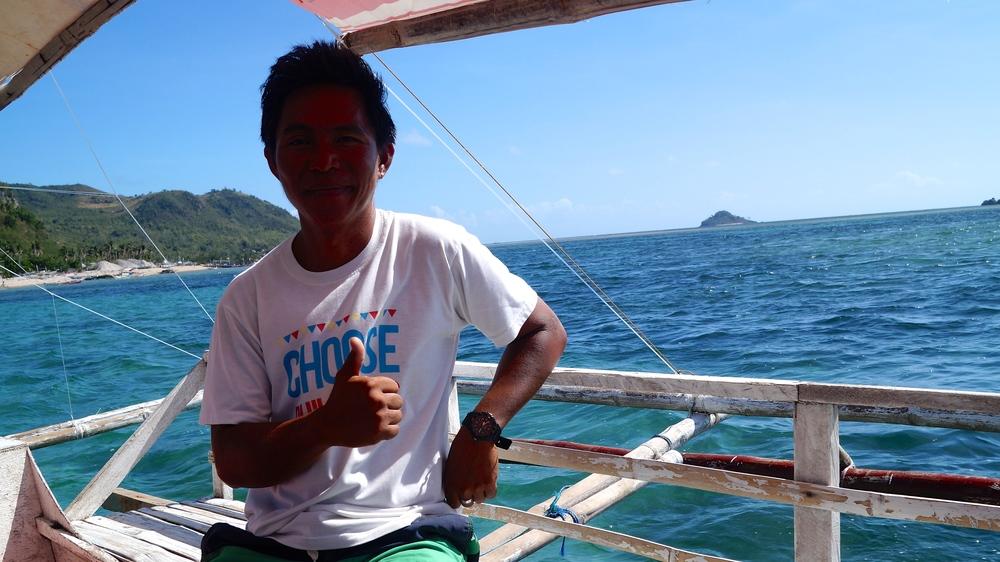 Islas de Gigantes - Gigantes Norte Boat - illumelation