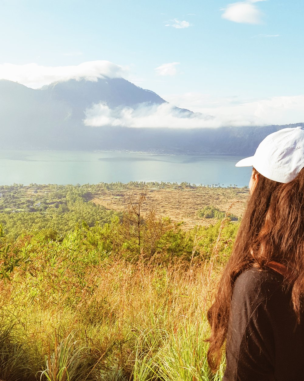 Mel at Kintamani Lake, Mount Batur Sunrise Hike, Bali, illumelation.com