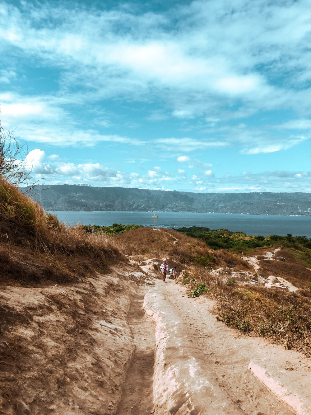 Hiking Taal Volcano in Tagaytay, Batangas Province - Luzon, Philippines