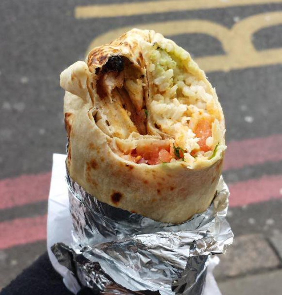 Chicken Burrito - FiliShack Filipino Street Food Stall - Peckham, London - Credit to myblogspotword.com