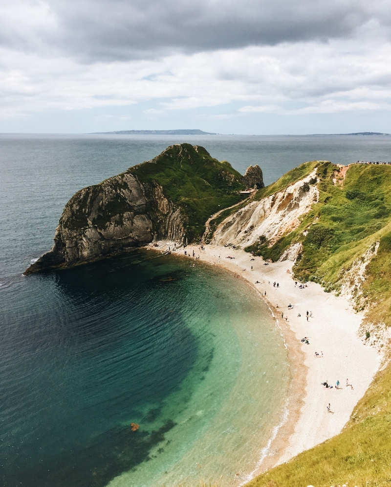Man O'War Bay, Jurassic Coast, Lulworth Estate - Dorset, England - illumelation.com
