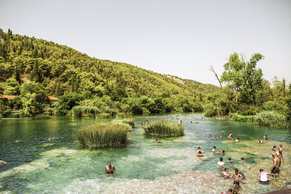 More Human Beings at Krka National Park Falls - Lozovac, Dalmatia, Croatia - illumelation.jpg