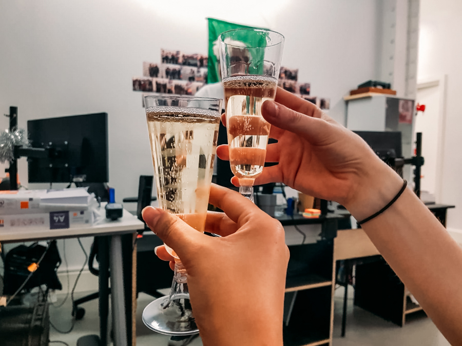 Nothing beats a bit of post-escape room bubbly, am I right?
