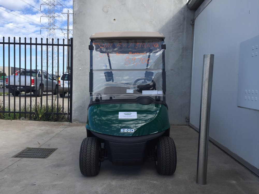 E-Z-GO 2017 RXV Green with new Trojan Batteries