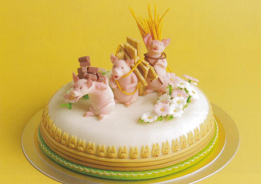 2009 ジャパン・ケーキショー東京 米国ツアー賞・連合会会長賞<マジパン仕上げデコレーションケーキ部門>