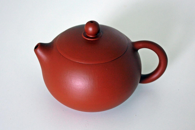Marks China Handwork Yixing Zisha Teapot Ore old purple mud Taiji gossip pot @01