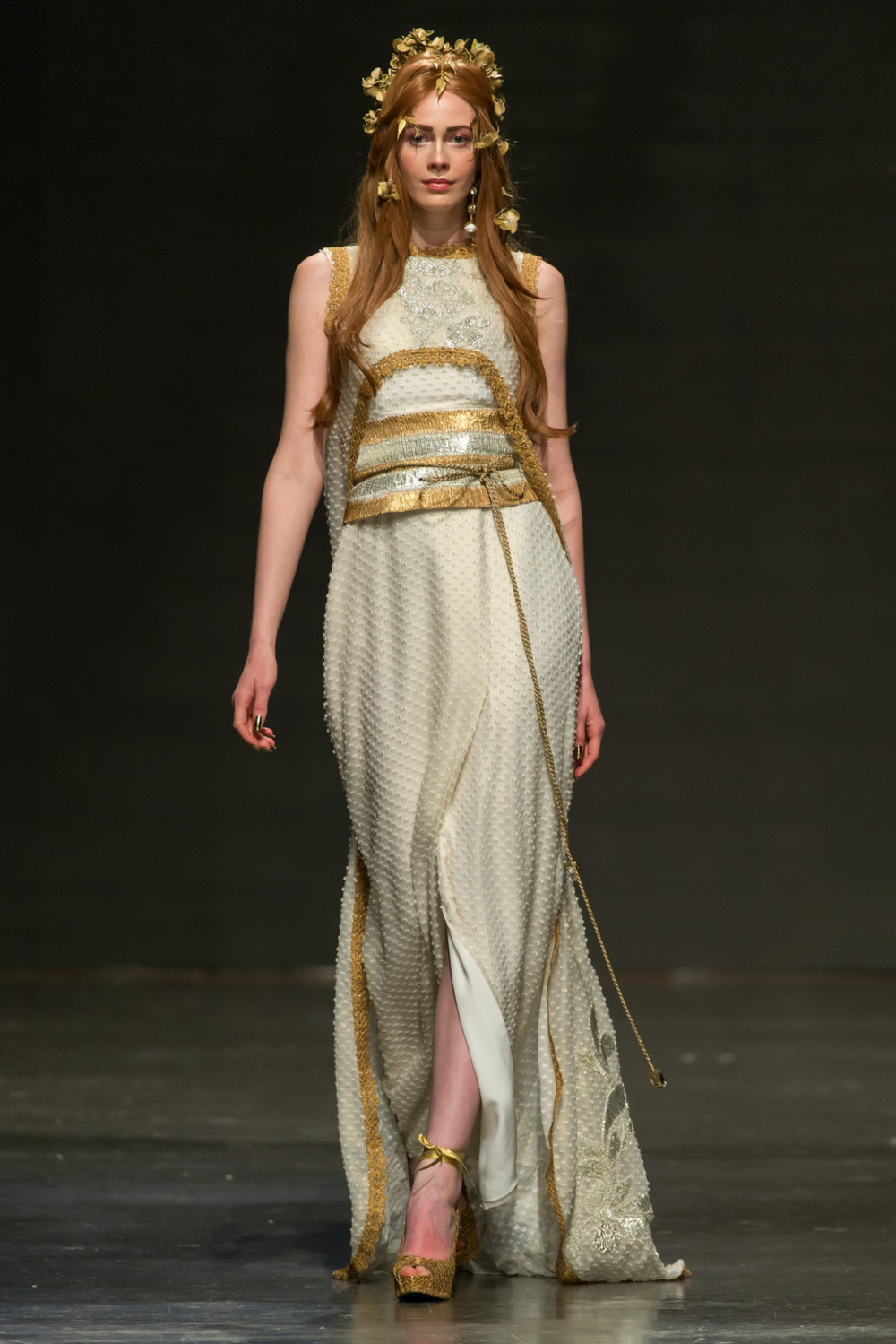 Zareena at Fashion Forward Season 5.