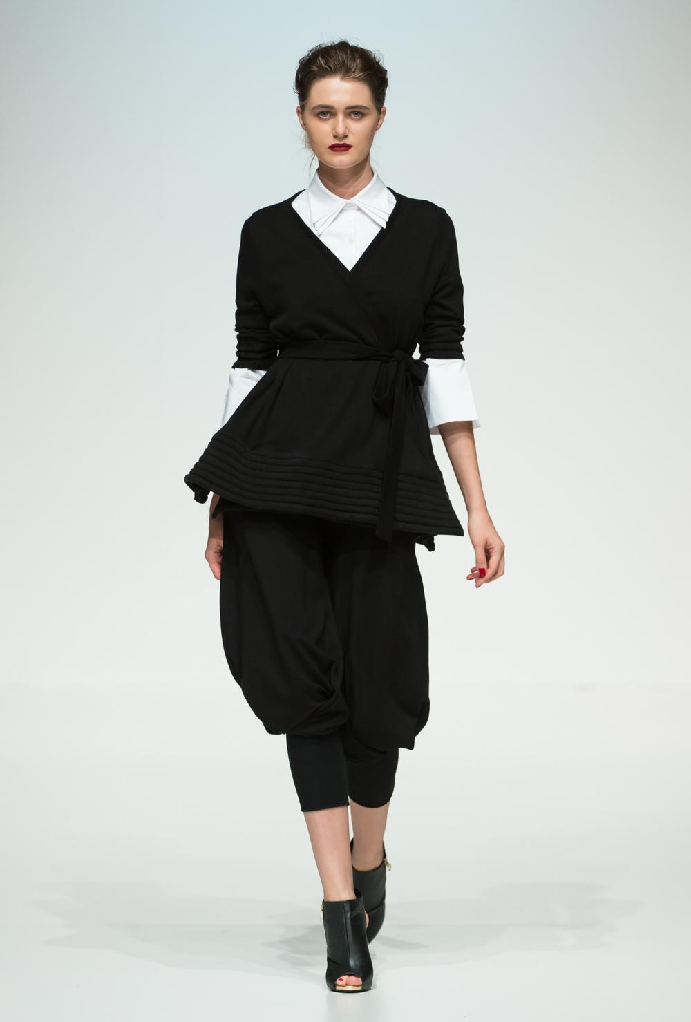 Daneh at Fashion Forward Season 5.
