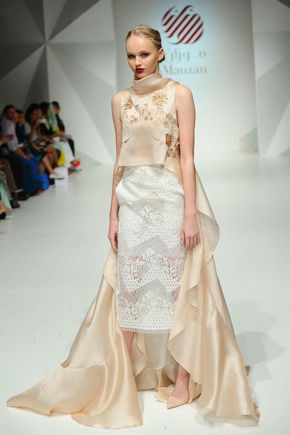 Mauzan at Fashion Forward Season 5.