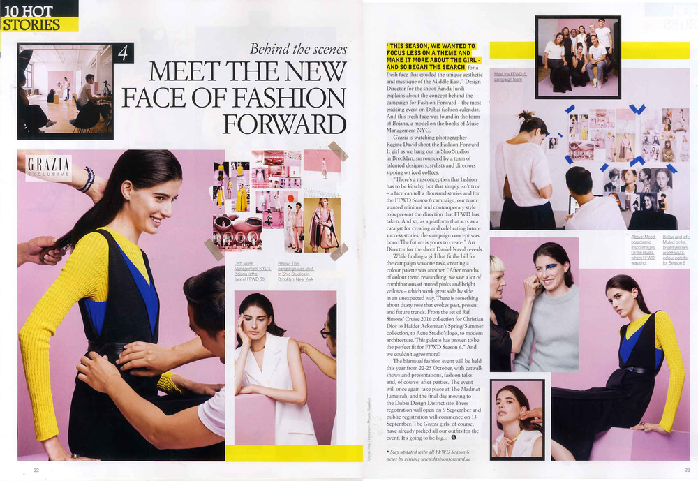 Grazia Middle East - August 2015
