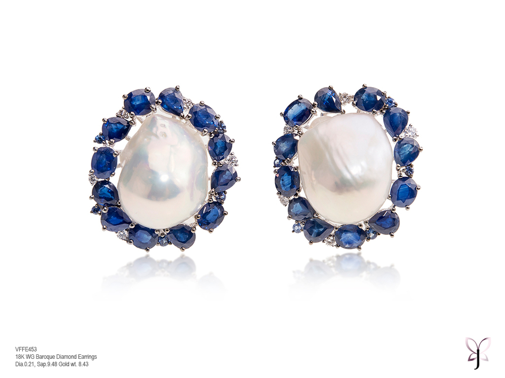 Sapphire and Diamond White Baroque Studs.jpg