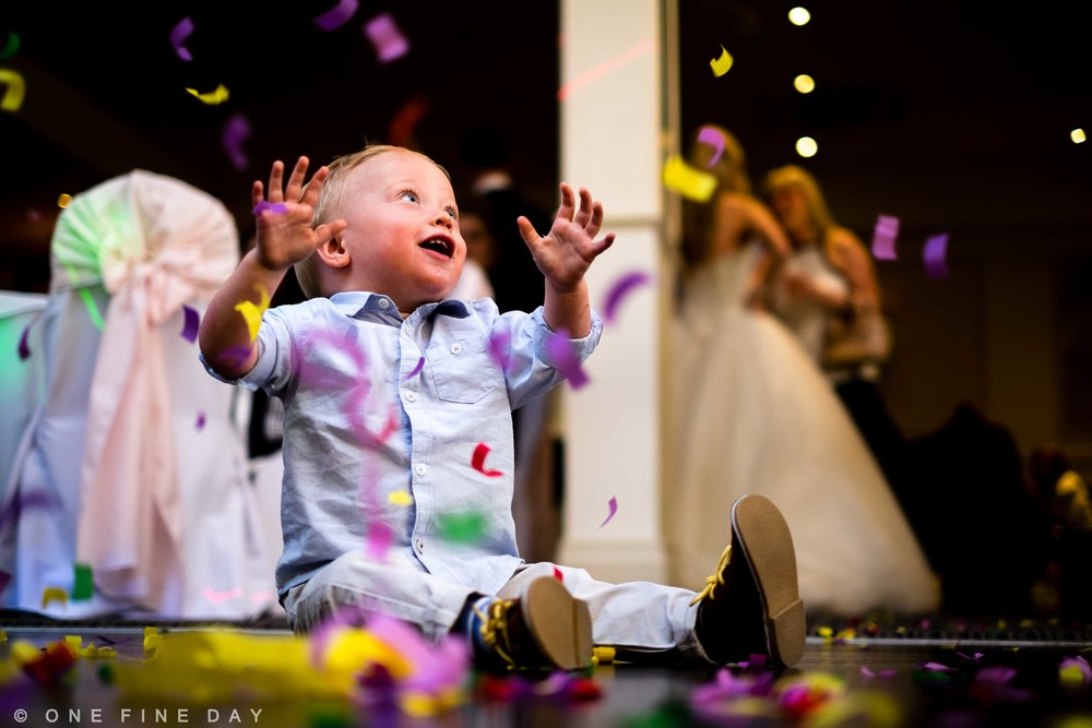 Wedding Dance floor Child