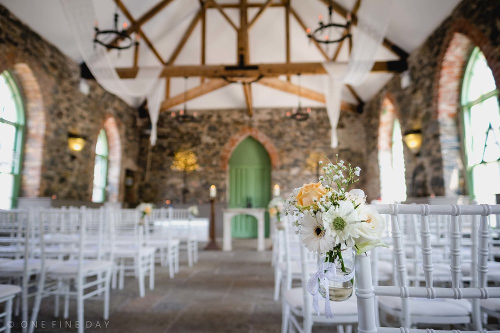 Orange Tree House Wedding Ceremony Room