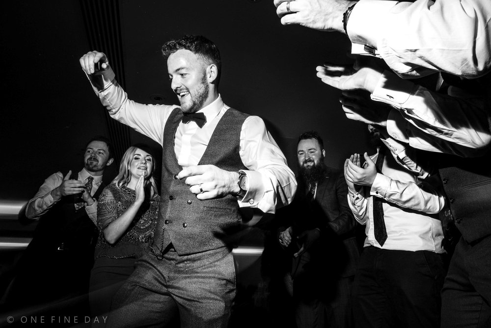 Ballygally Wedding dancefloor photograph