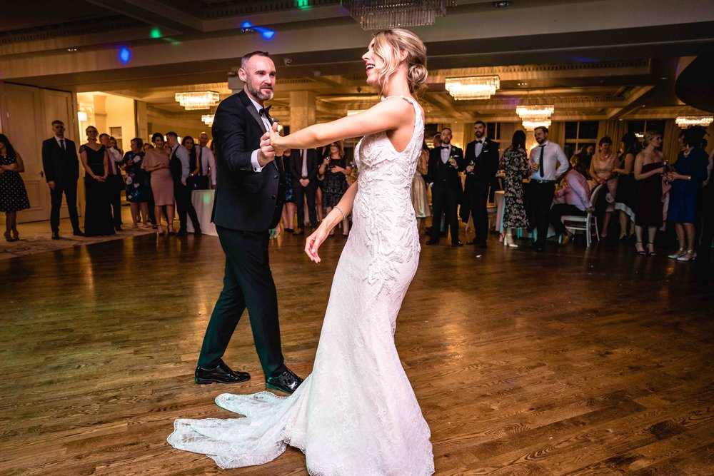 First dance at Carlingford wedding